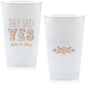 They Said Yes Cup