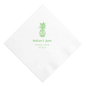 Aloha Pineapple Napkin