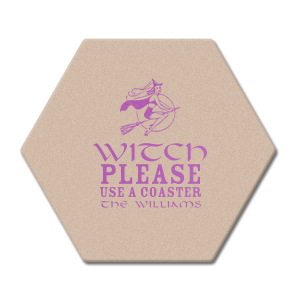 Witch Please Coaster