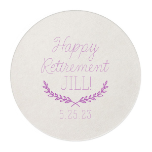 Retirement Branch Coaster