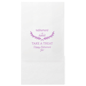 Retirement Treat Bag