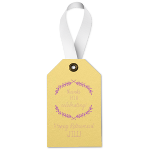 Retirement Branch Tag
