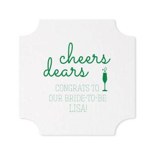 Cheers Dears Coaster