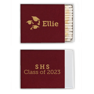 Graduation Cap Match Box