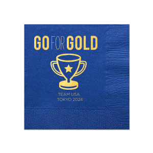 Go For Gold Olympic Napkin