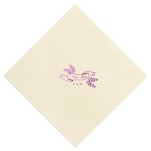 Ribbon and Bow Napkin