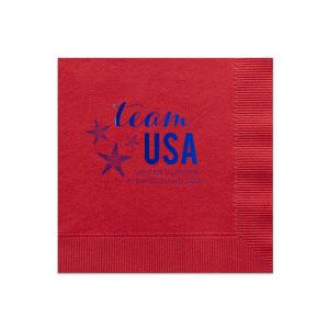 Team USA Napkin