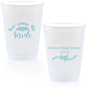 Here Comes the Bride Cup