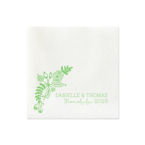 Tropical Celebration Napkin
