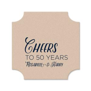 Cheers Anniversary Coaster