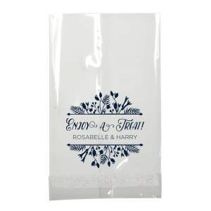 Floral Frame Treat Bag