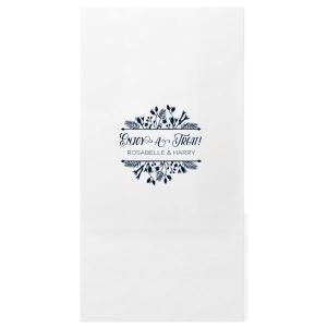 Floral Frame Treat Bag