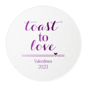 Toast To Love Coaster