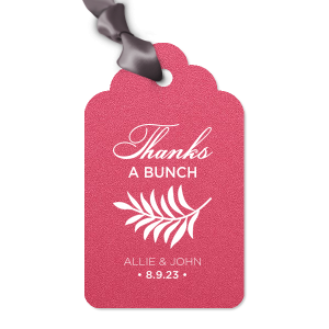 Round Arch Gift Tag