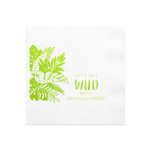 Get Wild Leaves Napkin