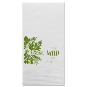 Get Wild Leaves Napkin