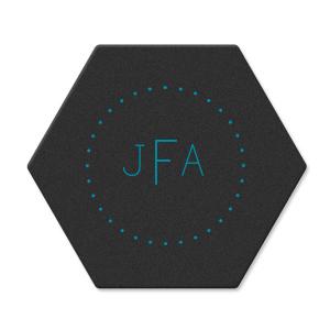 Simple Monogram Coaster