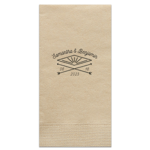 Diamond and Arrows Napkin