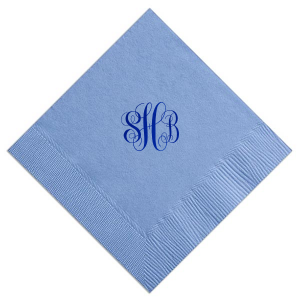 Romantic Monogram Napkin