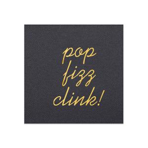 Pop Fizz Clink Napkin