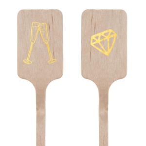 Champagne and Diamonds Stir Stick