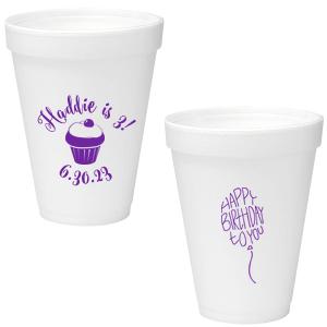 Birthday Cupcake Cup