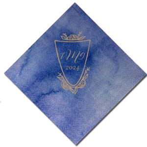 Monogram Crest Napkin