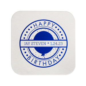 Birthday Badge Coaster
