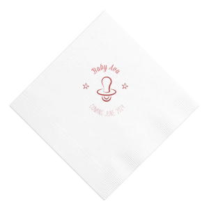 Baby Pacifier Napkin
