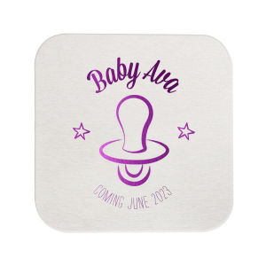 Baby Pacifier Coaster
