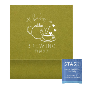Baby Brewing Tea Favor