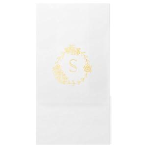 Peony Frame Monogram Bag