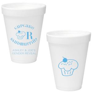 Cupcake or Studmuffin Foam Cup