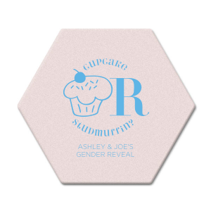 Cupcake or Studmuffin Coaster