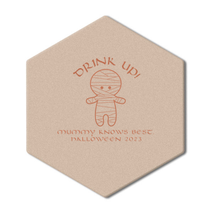 Mummy Knows Best Coaster