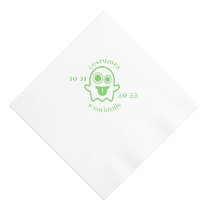 Costumes and Cocktails Napkin
