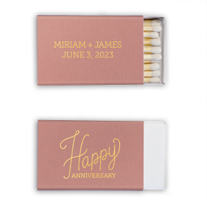 photo of Personalized Anniversary Matches