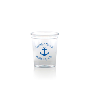 Gettin Nauti Shot Glass