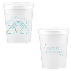 Rainbow Birthday Cup