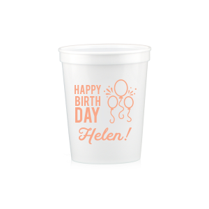 Birthday Balloon Cup