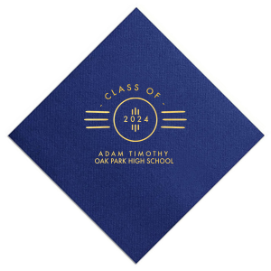Roaring Twenties Graduation Napkin