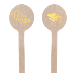 Graduation Cap Stir Stick