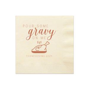 Pour Some Gravy Napkin