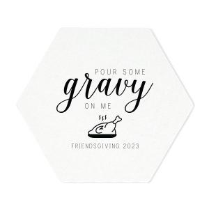 Pour Some Gravy Coaster