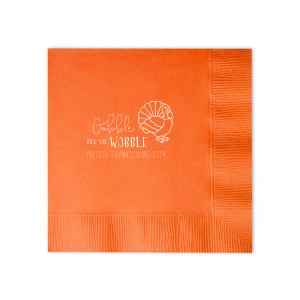 Gobble Till You Wobble Napkin