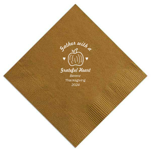 Thankful Heart Napkin