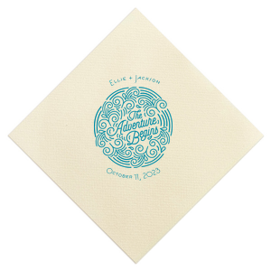 The Adventure Begins Napkin