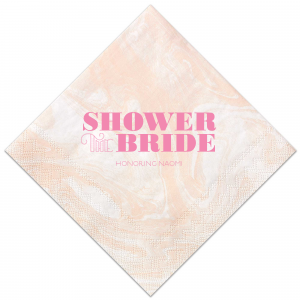 Shower the Bride Napkin