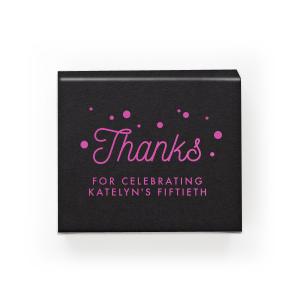 Thanks Confetti Box