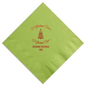 O Christmas Tree Napkin